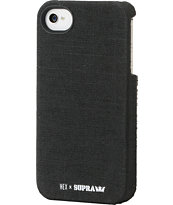 Hex x Supra Core Black iPhone 4 Case