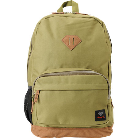 Diamond Supply Co. Army Green Laptop Backpack at Zumiez : PDP - photo#16