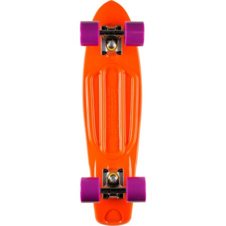 Freeride Orange 22.5 Recycled Mini Complete Cruiser Skateboard