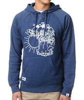 Local Legends Highly Pacific Navy Pullover Hoodie