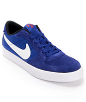 Nike Mavrk Low Royal Blue & White Skate Shoe