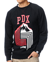 Local Legends PDX Black Crew Neck Sweatshirt