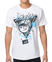 Neff Radical White UV Color Changing Tee Shirt
