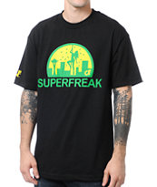 Cake Face Superfreak Black Tee Shirt