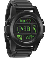 Nixon The Unit SS All Black Digital Watch