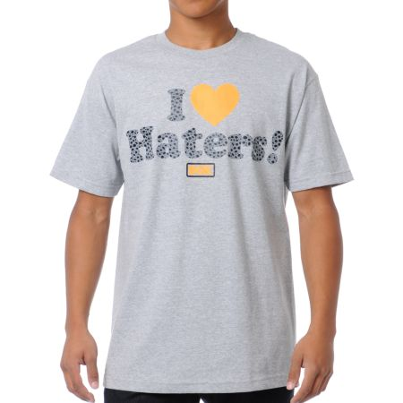DGK Safari Haters Grey Tee Shirt