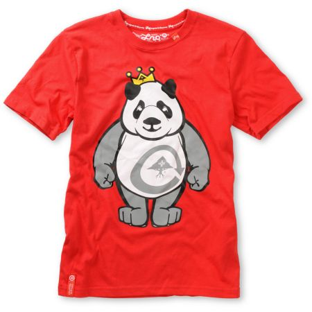 LRG Boys King of Style Red Tee Shirt