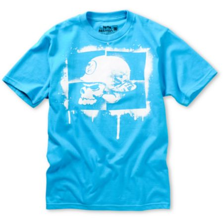 Metal Mulisha Boys Rush Turquoise Tee Shirt