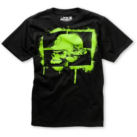 Metal Mulisha Boys Rush Black Tee Shirt