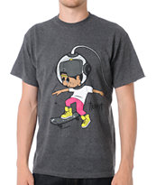 Trukfit Star Grind Charcoal Grey Tee Shirt