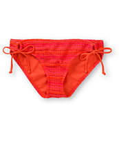 Reef Spirit Coral Crochet Tunnel Tie Bikini Bottom