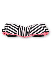 Volcom Girls Jail Bird Flounce Bandeau Bikini Top