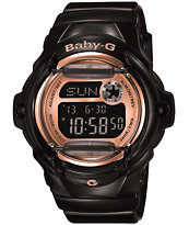 G-Shock BG169G-1 Baby-G Black & Rose Gold Watch