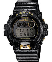 G-Shock DW6900CR-1 LTD Crocodile Texture Black Watch