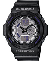 G-Shock GA150MF-8A Metallic Finish Black Watch