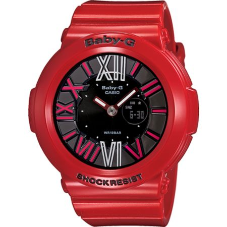 G-Shock BGA160-4B Baby-G Red Watch