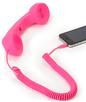 Native Union POP Neon Pink Retro Phone Handset