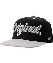 KR3W Originals Black & Grey Snapback