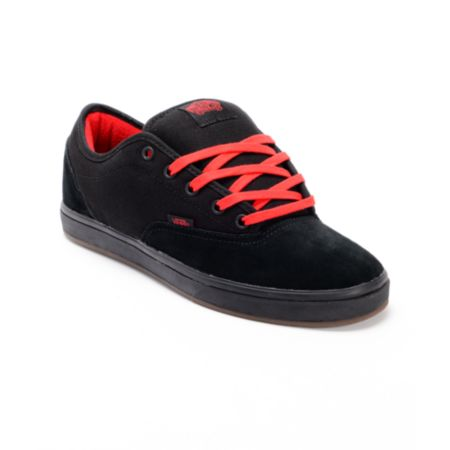 Vans AV Era 1.5 Black & Red Skate Shoe