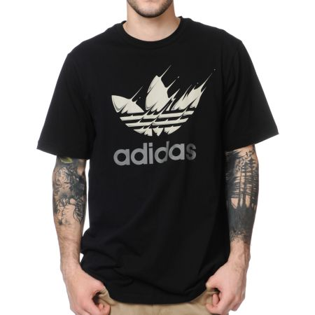 Adidas Movement Black Tee Shirt