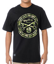 Bloodbath Camo Seal Black Tee Shirt