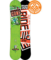 Ride Snowboards Crush 158cm Snowboard 2013