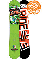 Ride Snowboards Crush 152cm Snowboard 2013