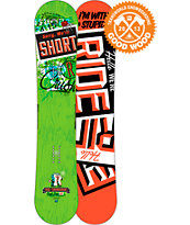 Ride Snowboards Crush 147cm Snowboard 2013