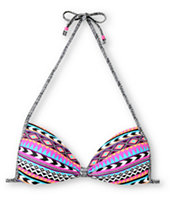 Empyre Girls Tribal Lines Molded Cup Bikini Top