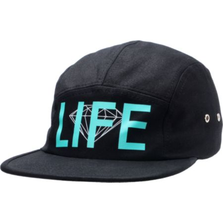Diamond Supply D-Life 5 Panel  Hat