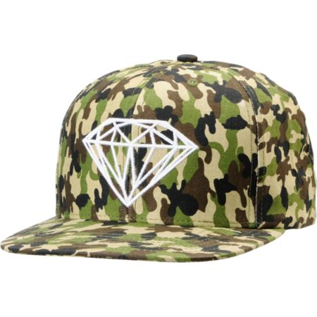 Diamond Supply Brilliant Camo Snapback Hat