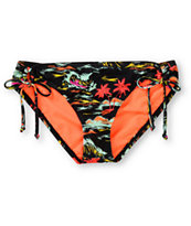 Hurley Swim Flamo Tunnel Tie Bikini Bottom