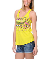 Empyre Girls Casey Gem Charcoal Racerback Tank Top