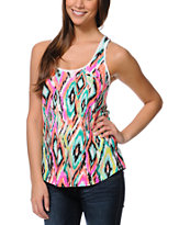 Empyre Girl Casey Multicolored Racerback Tank Top
