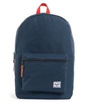 Herschel Supply Settlement Blue & Red Backpack