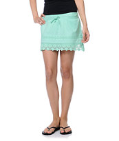 Empyre Jeslynn Lace Trim Green Skirt