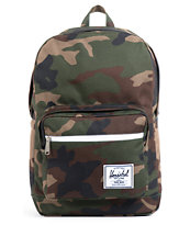 Herschel Supply Pop Quiz Woodland Camo Backpack