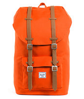 Herschel Supply Little America Camper Orange Backpack