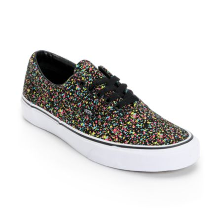 Vans Era Overspray Black Shoe