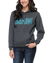 REBEL8 All City Girls Charcoal Pullover Hoodie