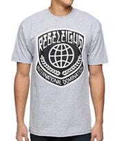 REBEL8 International Heather Grey Tee Shirt