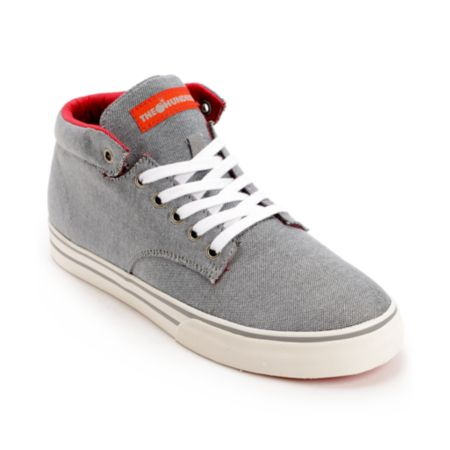 The Hundreds Johnson Chambray Mid Top Shoe