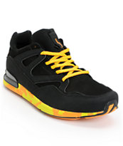 The Hundreds Hoya Black & Yellow Shoe