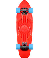 Dusters Mighty 25 Blue & Red Plastic Cruiser Skateboard