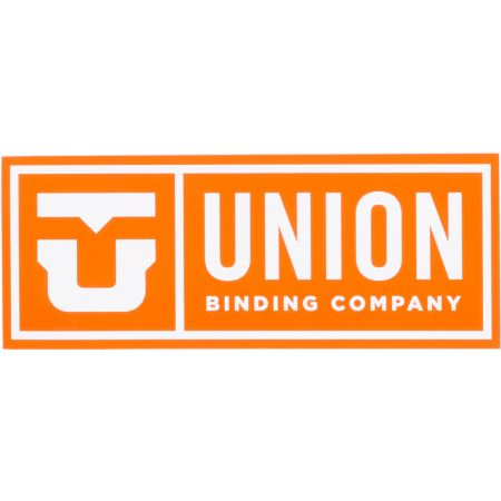 Union Orange Logo Sticker
