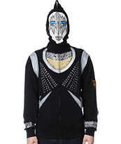 Volcom Kiss Zip Up Tommy Thayer Face Mask Hoodie