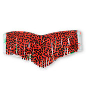 Crooks And Castles Mahalo Lanzarote Fringe Bandeau Bikini Top