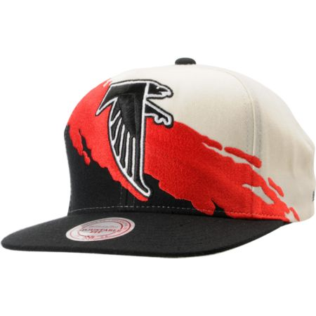 NFL Mitchell and Ness Atlanta Falcons Paintbrush Snapback Hat