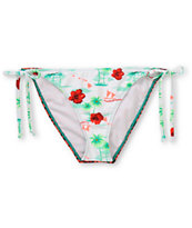 Crooks And Castles Mahalo Bondi Side Tie Bikini Bottom