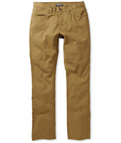 Free World Messenger Dark Khaki Twill Pants